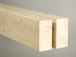 Travi travetti in legno lamellare