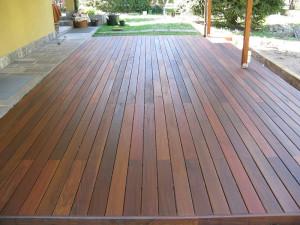 Pavimentazione in legno
