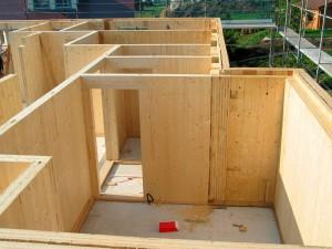 Casa con struttura in Xlam