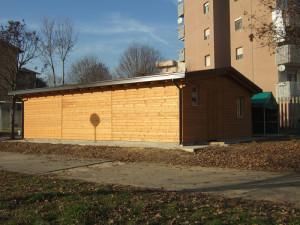 Casetta in legno a misura